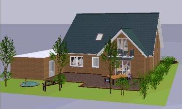 Grundriss erdgeschoss ansicht giebel links grundriss dachgeschoss